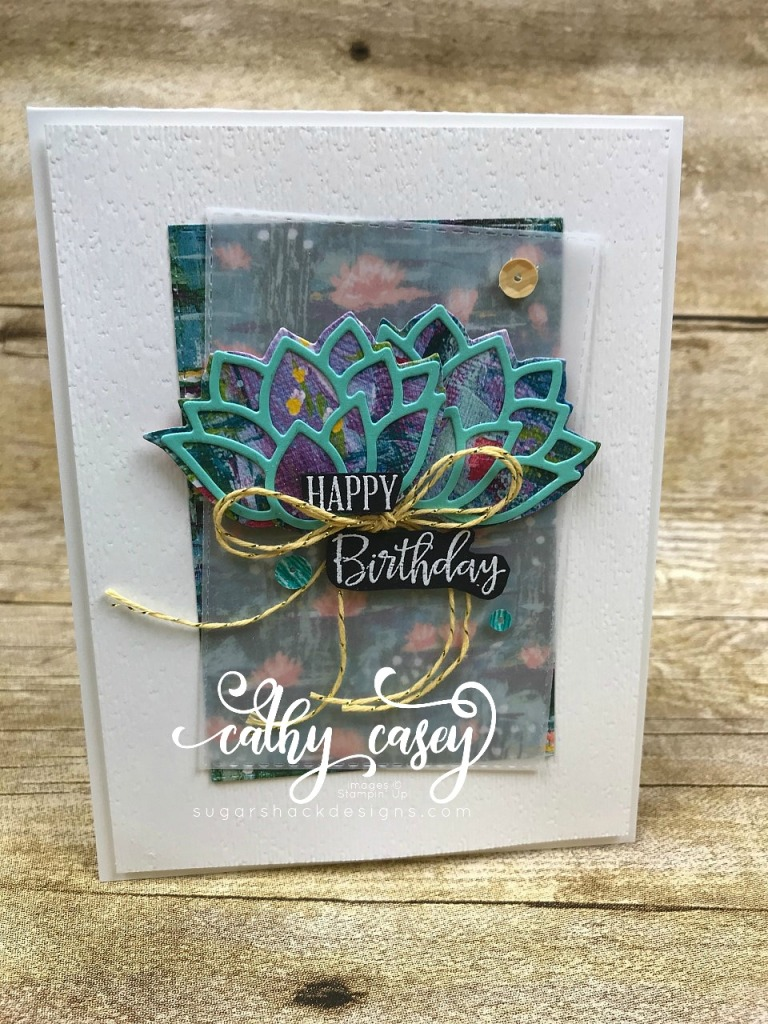 Lovely Lilypad Stampin' Up