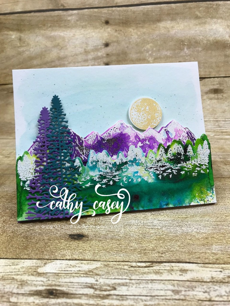 Mountain Air Stampin' Up
