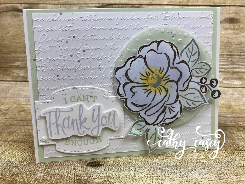 Flowering Foils Stampin' Up