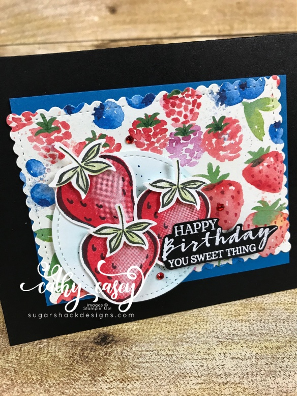 Sweet Strawberry Stampin' Up