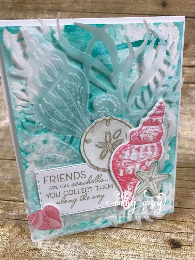 Friends Are Like Seashells Stampin' Up