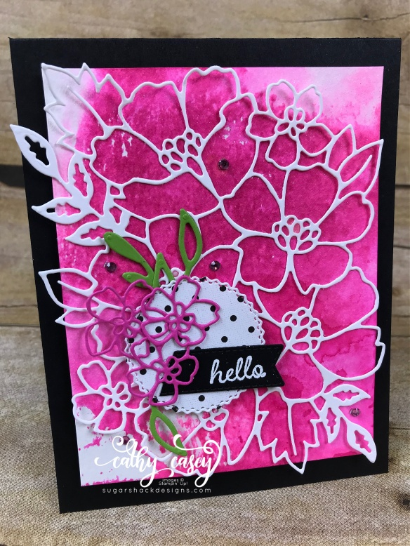 Many Layered Blossoms Stampin' Up