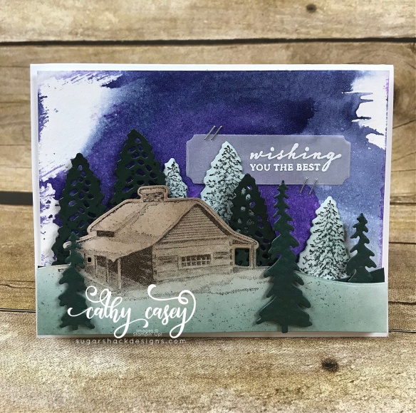 Peaceful Cabin Stampin' Up